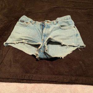 Aeropostale cutoff Shorts